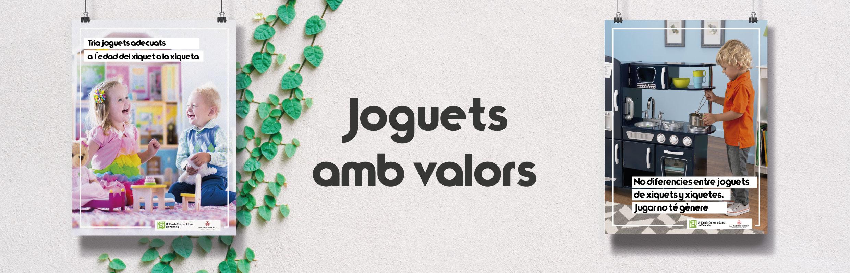 JOGUETS AMB VALORS