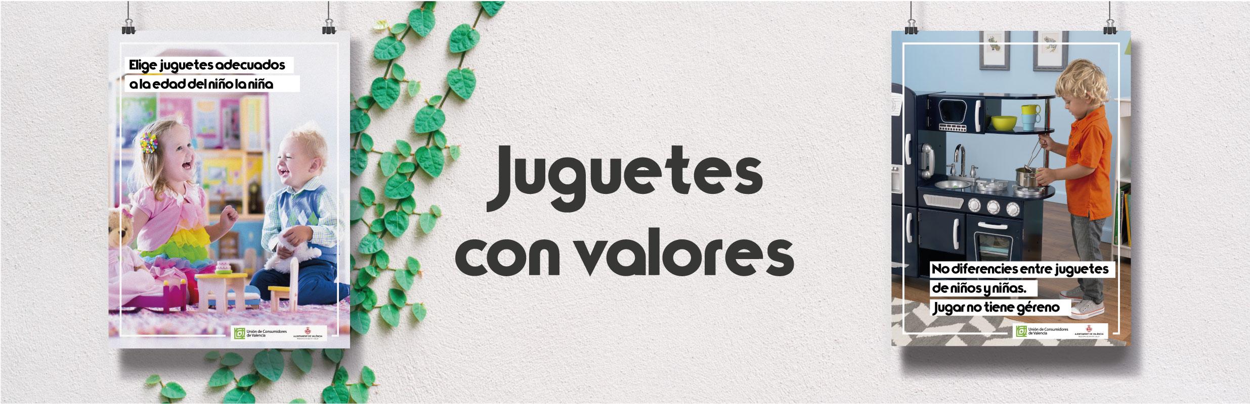 JUGUETES CON VALORES