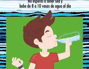 hidratación verano